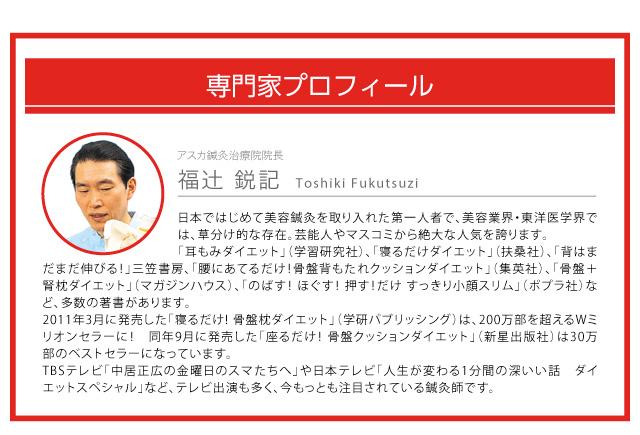美容鍼灸の専門家「福辻鋭記」先生が考案