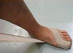 足・指関節サポーター 使用方法2