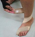 足・指関節サポーター 使用方法3