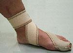 足・指関節サポーター 使用方法4