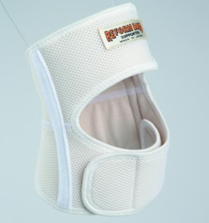 立体編みシルクひざサポーター