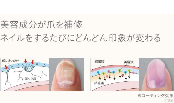美容成分が爪を補修。ネイルをするたびにどんどん印象が変わる。