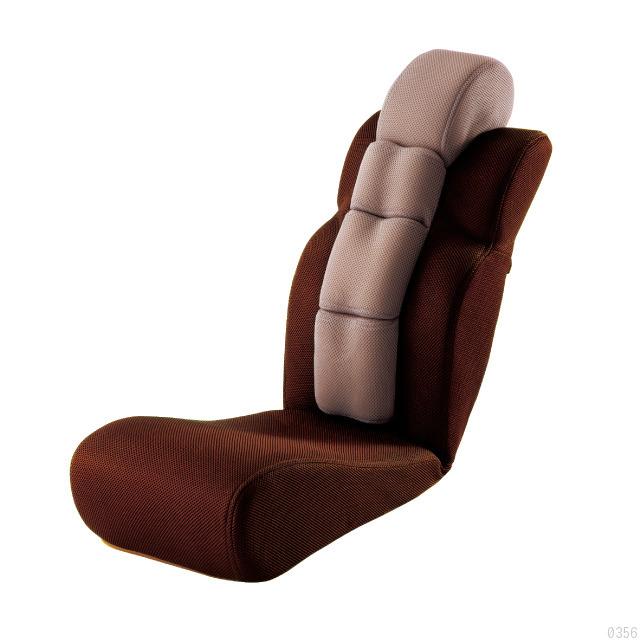 座ってぐーんと伸びをするだけで全身一気にスッキリさせてくれる座椅子「骨盤ポール座椅子 NOBIIIL」
