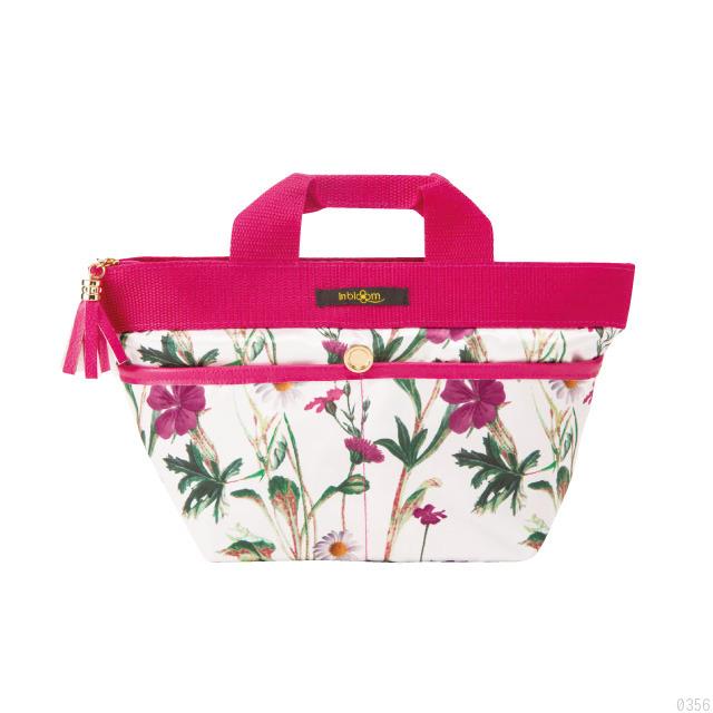 収納が楽しくなる、バッグの中が散らからない、ピンク、ブラック